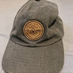 Grey Hippytree Supply West Coast Ball Cap